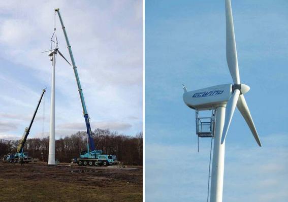 EC Wind Windpower Installation
