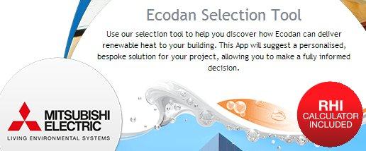 Ecodan_selection_tool