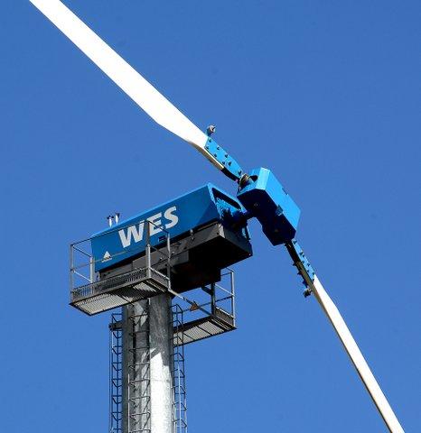 WES 80kW wind turbine