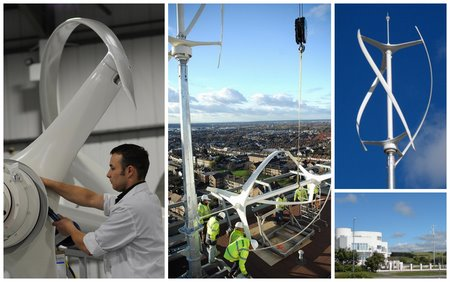 Quietrevolution qr5 vertical axis wind turbine