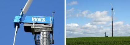 WES 100kW Windpower Installation